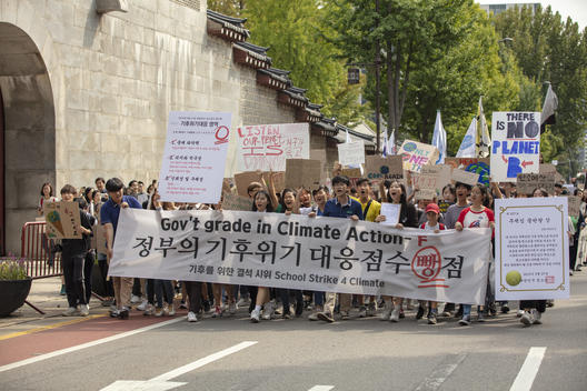 Youth Climate Strike in Seoul, S.Korea