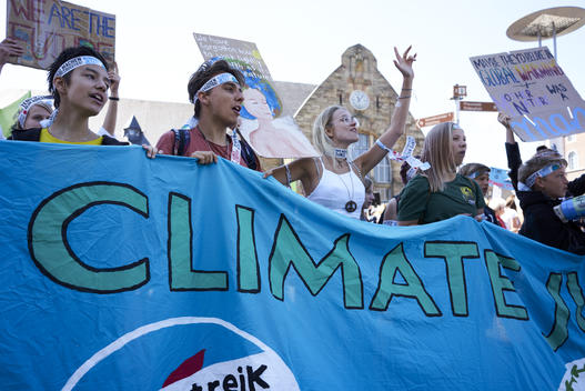 "International ""Fridays for Future"" Demonstration in Aachen"