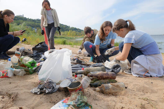 Clean Up and Waste Audit in Nizhny Novgorod, Russia