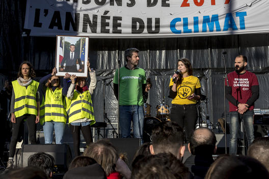 Walk for the Climate in Paris