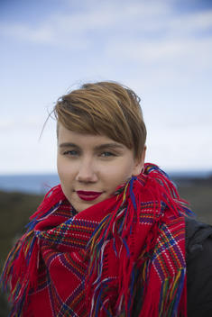 Ella Marie Performs for the Protect the Oceans Tour in Iceland
