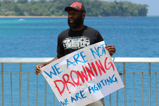 Action ahead of the Climate Vulnerable Forum (CVF) in Vanuatu