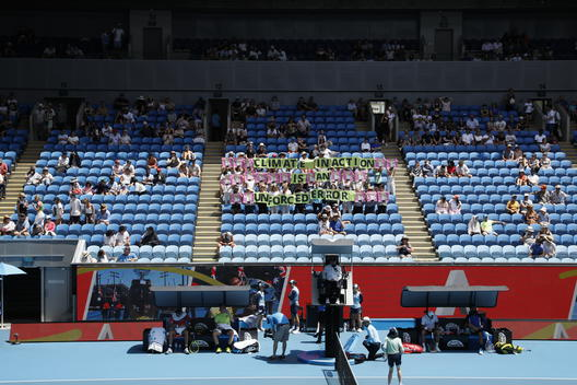 Australian Open 2020 Climate Action in Melbourne