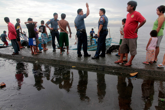 Diesel Oil Spill in the Philippines