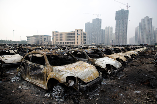 Tianjin Chemical Explosion in China
