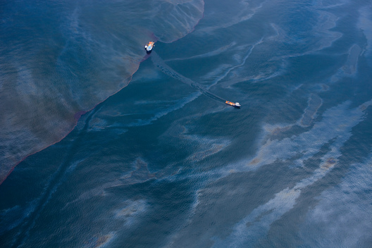 Oil from Oil Rig Disaster in the Gulf of Mexico