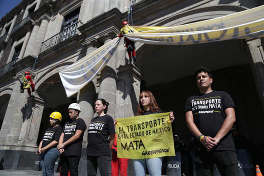 Activists Demand Sustainable and Safe Mobility in Mexico City