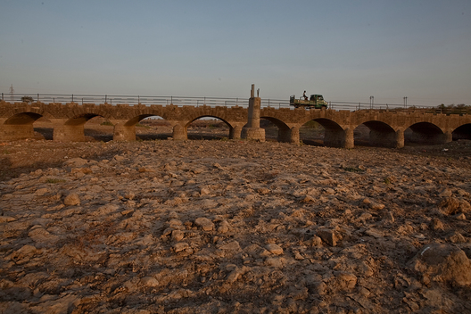 Nirguna Dried River Bed in Maharashtra