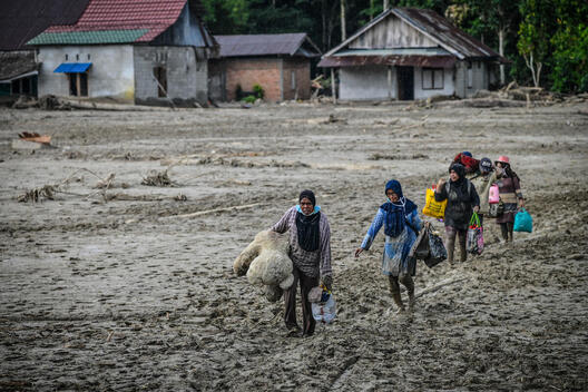 Flash Floods Victims in South Sulawesi