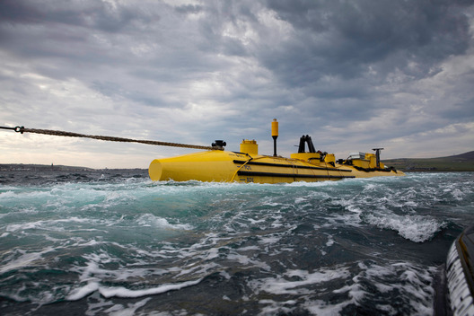 Scotrenewables Tidal Turbine in Kirwall