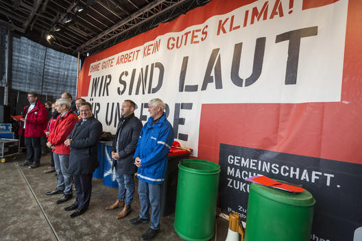 Talks With Trade Union Over Hambach Forest