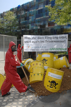 Toxics Action Waste Returned to Sender Novartis