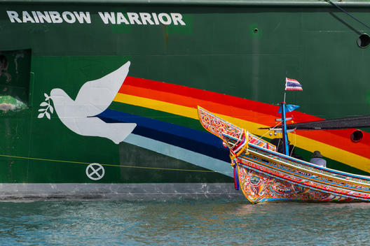 Rainbow Warrior in Songkhla