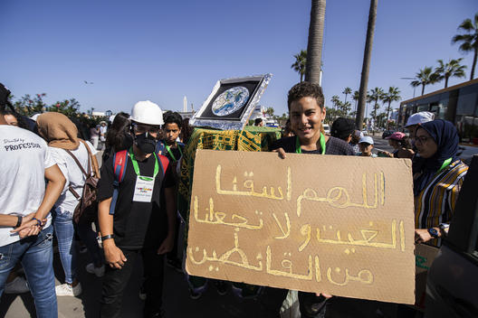 Global Climate Strike in Casablanca, Morocco