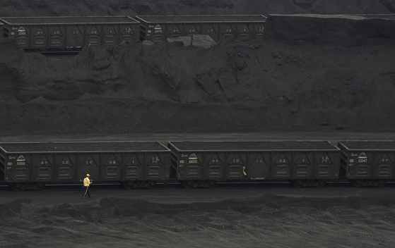 Coal Trucks in Inner Mongolia