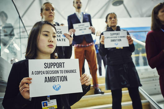 Activists Encourage Delegates to Change Course on Climate at COP24 in Katowice