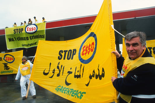 Climate Action at Esso in Luxembourg
