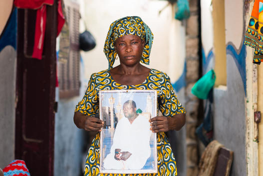 Daba Samoura, Wife of Lost Fisherman, in Senegal