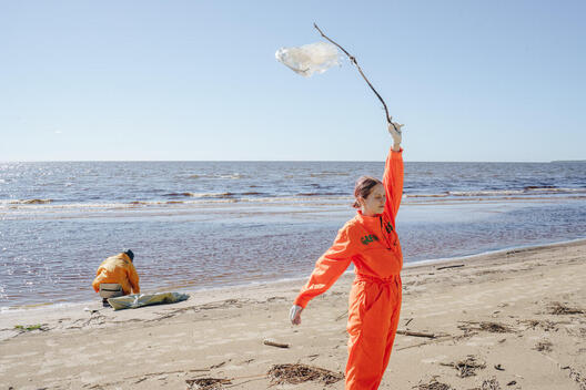 Clean Up and Waste Audit in Ladoga Lake, Russia