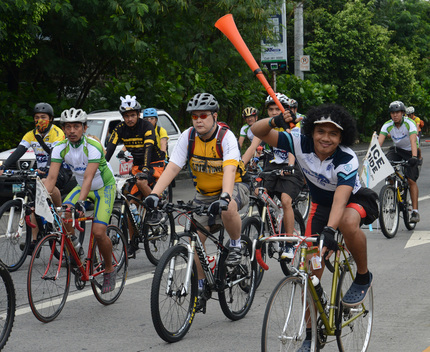 Save the Arctic Ice Ride in Pasig