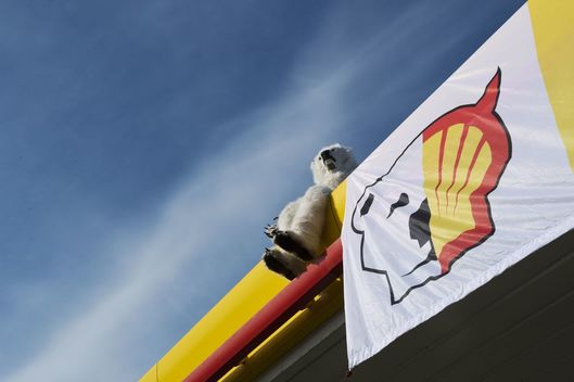 Shell Petrol Station Shutdown in Sweden