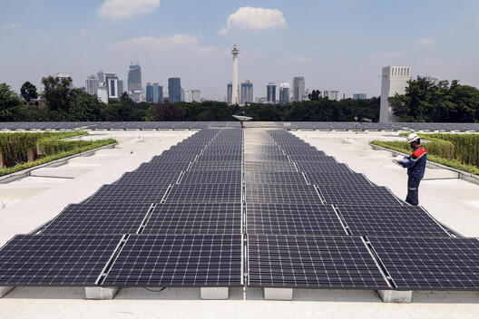 Solar Panel in Istiqlal Mosque, Jakarta