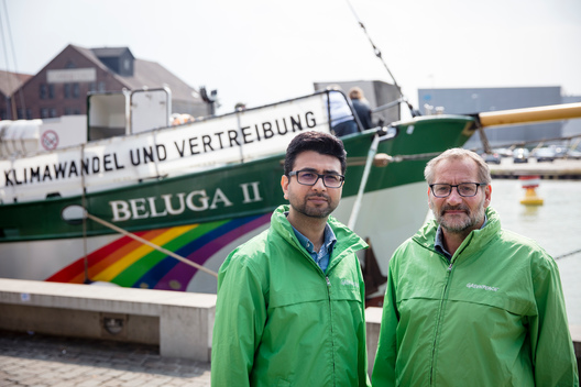Beluga II Climate Tour Begins in Muenster