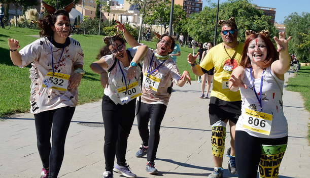 Nuclear Running Dead Action in Valencia