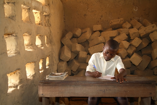 Student in School in Congo