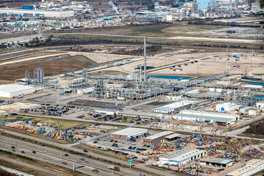 Total Oil Facilities in Texas