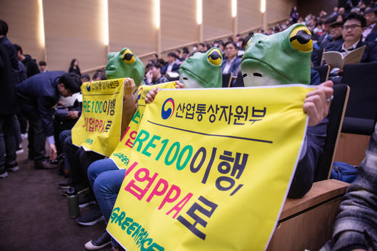 Green Frogs Advocate for Corporate PPA Policy for a Renewable Boost in South Korea