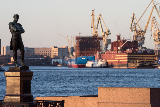 Floating NPP in St. Petersburg