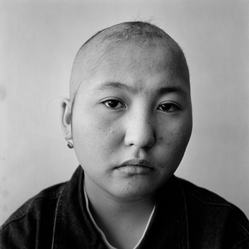Bayan Beisengalieva Portrait - Semipalatinsk Victims Documentation (Kazakhstan: 1999)