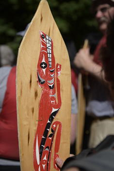Indigenous Coast Salish Water Ceremony in Vancouver