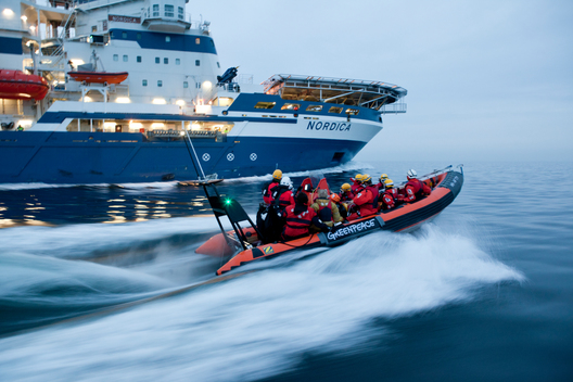 Nordica Icebreaker Action near Rügen