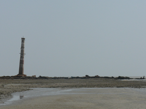 Sea Erosion in Ganga Sagar Island