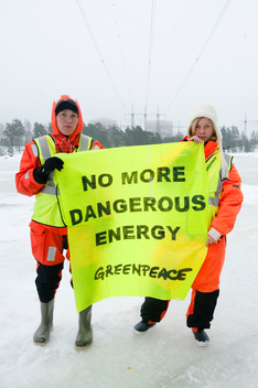 Nuclear Demonstration at Loviisa Nuclear Power Plant