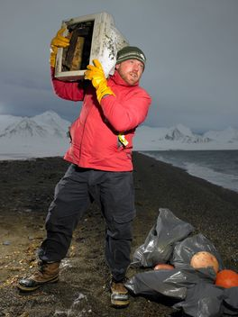 Rubbish Clearing in Svalbard