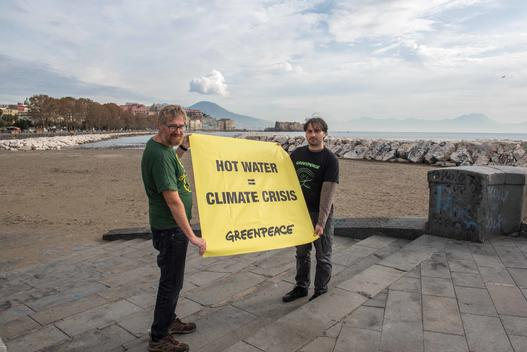 Protect the Ocean Action at COP 21 Barcelona Convention in Naples