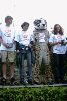 Climate Action against Esso Luxembourg