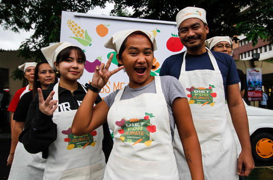 World Meat Free Week in Quezon City