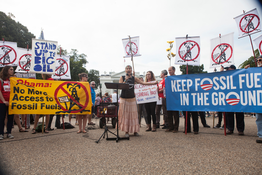 Keep it the Ground Rally at White House in Washington D.C.