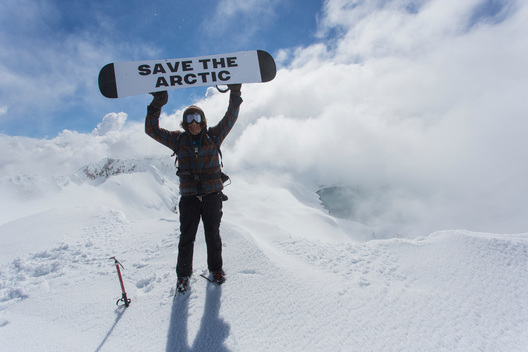 'Mountains and Rooftops' Arctic Sanctuary Action on Mount Ruapehu