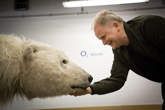 Paula Bear meets Herbert Groenemeyer in Berlin