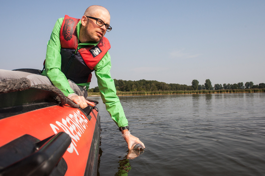 Testing Water Quality in the Schlei Fjord