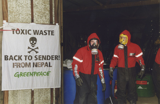 Toxic Waste Action in Nepal