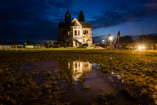 Church Removed for Open Pit Mining in Immerath