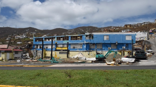 Hurricane Irma Damage in St. Thomas