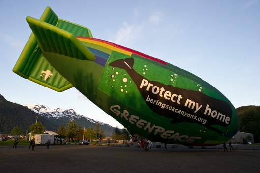Airship Flight for Bering Sea Protection in Alaska