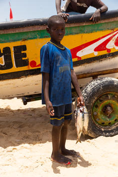 Everyday life in the Fishing Village of Fass Boye, Senegal